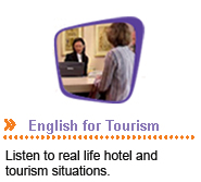 Goes to English for Tourism webpage